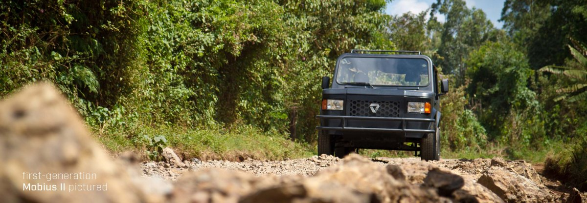 KENYA'S MADE MOBIUS MOTORS TO LAUNCH ITS MOBIUS II (JEEP) MODEL THIS YEAR 2017